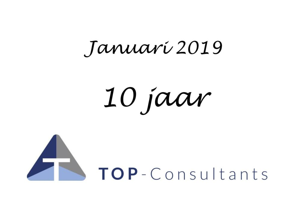 TOP-Consultants bestaat 10 jaar